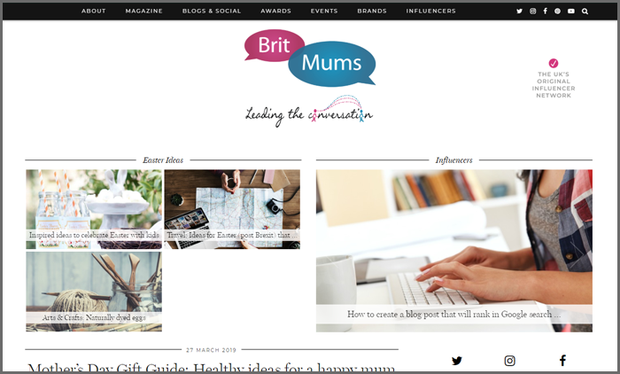 Brit Mums top 10 finance blog