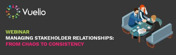 Managing Stakeholder Relationships webinar