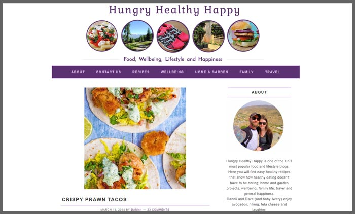 Food blogs uk top 10 vuelio vuelio top 10 food blog ranking hungryhealthyhappy forumfinder Choice Image