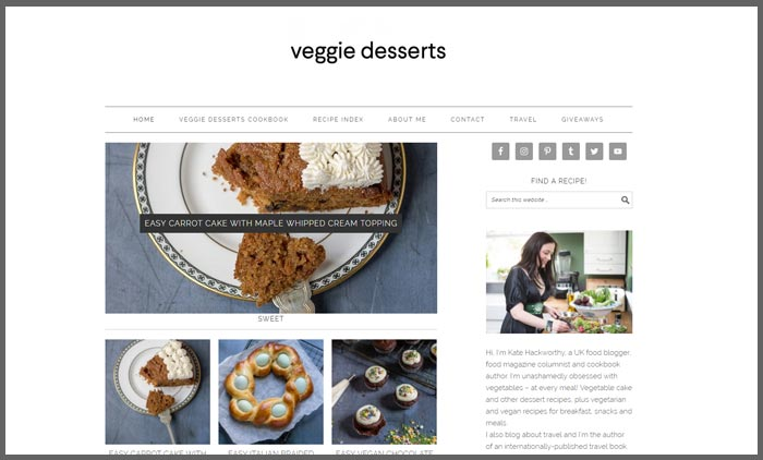 Food blogs uk top 10 vuelio vuelio top 10 food blog ranking veggiedessers forumfinder Gallery