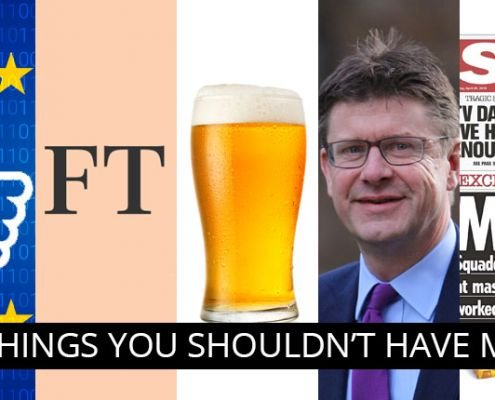 beer, facebook, ft, greg clark, the sun