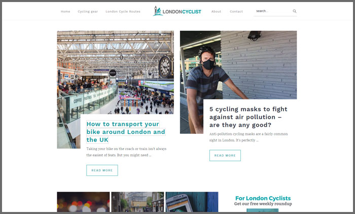London Cyclist