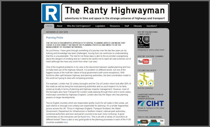 The Ranty Highwayman