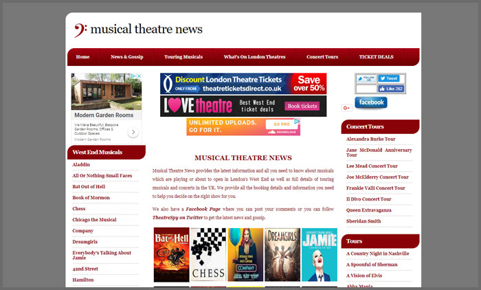 musical theatre news