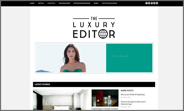 the luxury editor