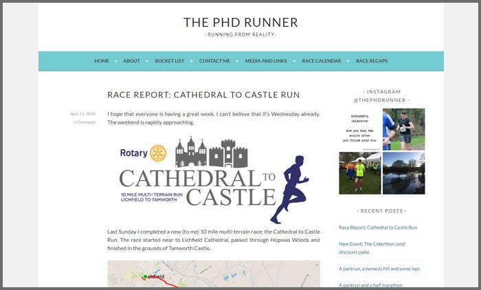 the phd runner
