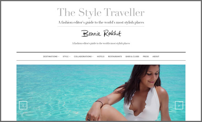 the style traveller