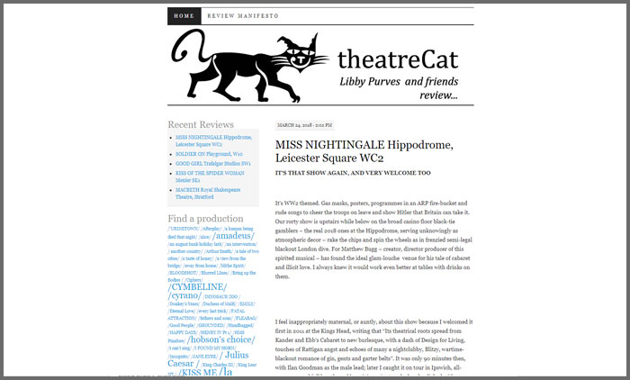 theatre cat
