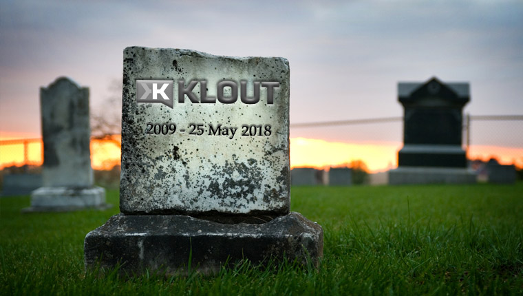 Klout ends