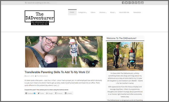 The Dadventurer