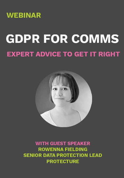 Your Guide to Vuelio and the GDPR