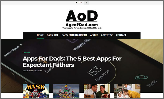Age of Dad