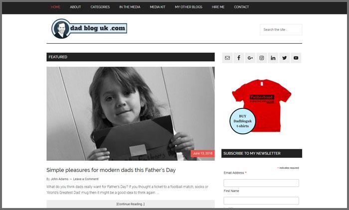 Dad Blog UK
