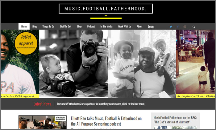 MusicFootballFatherhood