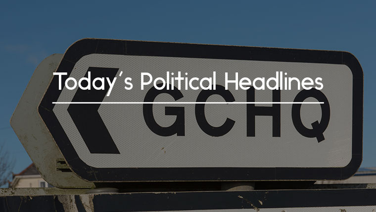 Political headlines