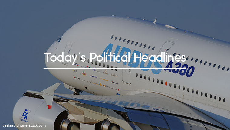 political headlines 22.06