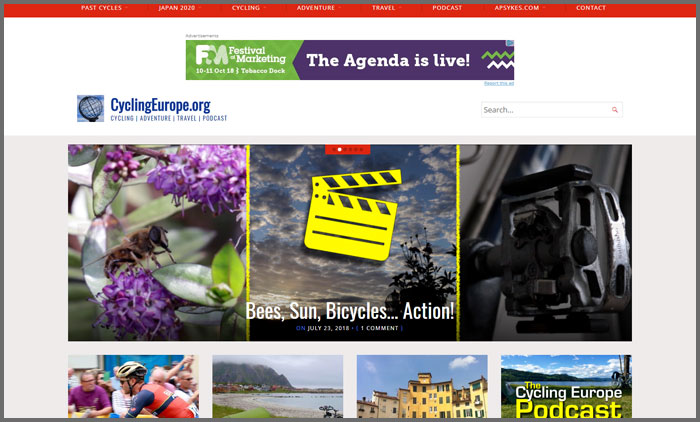 CyclingEurope.Org New