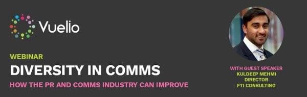 Diversity in comms webinar