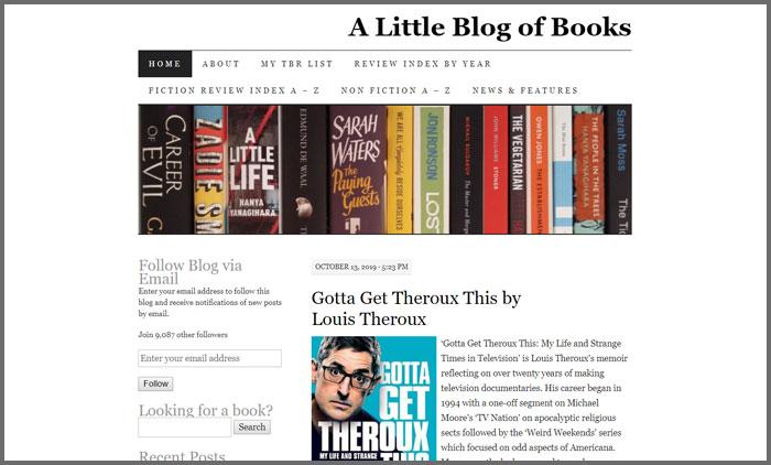 A Little Blog of Books