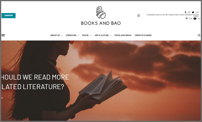 Books and Bao