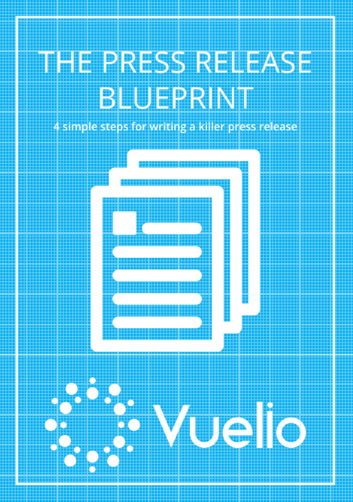 The Press Release Blueprint cover