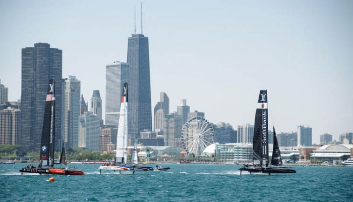 rEvolution, The Louis Vuitton America's Cup World Series Chicago