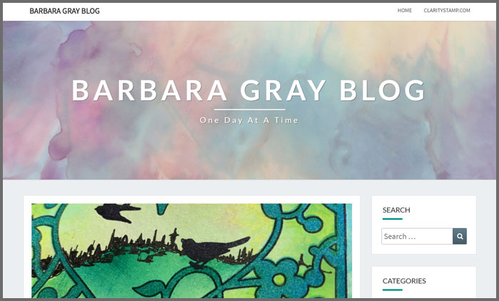 Barbara Gray Blog