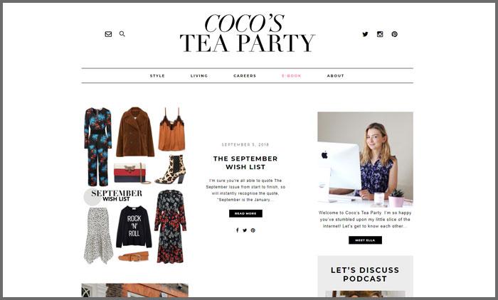 Coco's Tea Party