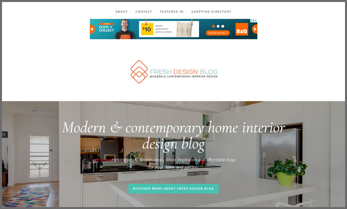 Interior Design Blogs UK Top 10 | Vuelio