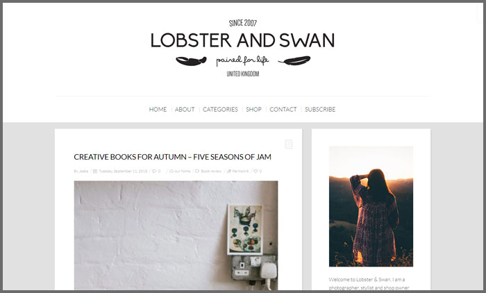 Lobster and Swan