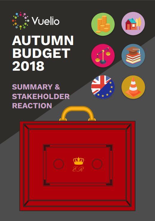 Autumn budget 2018 summary and stakeholder reaction whitepaper