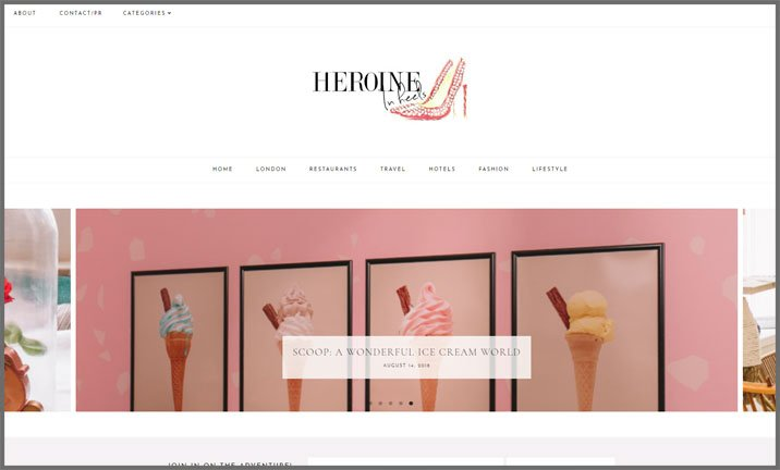 Vuelio Blog Awards 2018 - London Lifestyle - Heroine in Heels