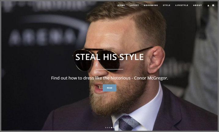 Vuelio Blog Awards 2018 - Men's Fashion - Man For Himself
