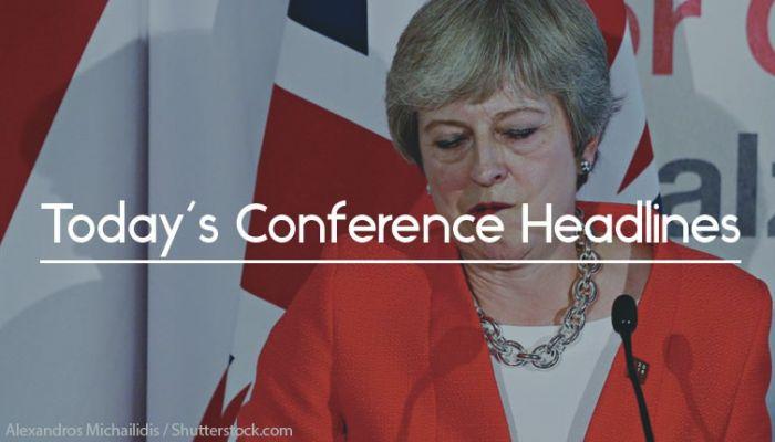 Theresa may conference