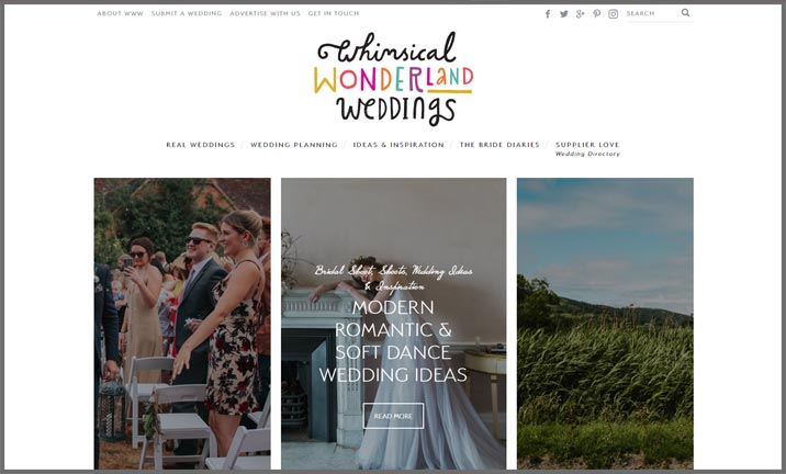 Vuelio Blog Awards 2018 - Wedding - Whimsical Wonderland Wedding