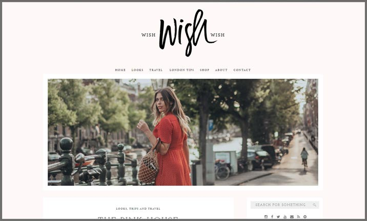 Vuelio Blog Awards 2018 - Travel & Leisure - Wish Wish Wish