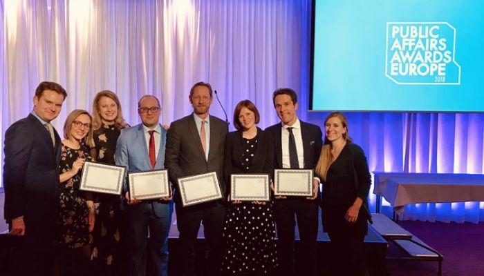 Interel Public Affairs Awards Europe