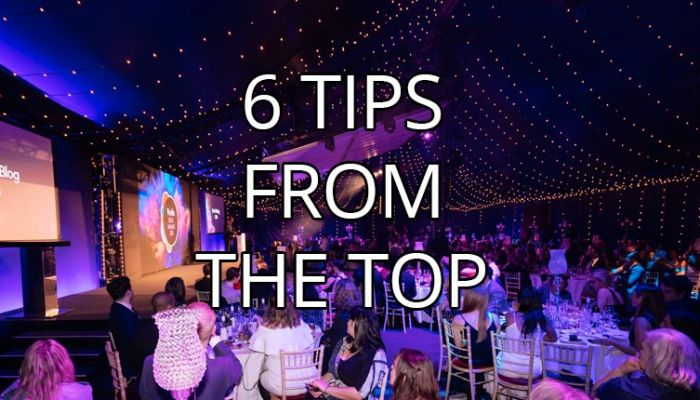 6 tips from the top