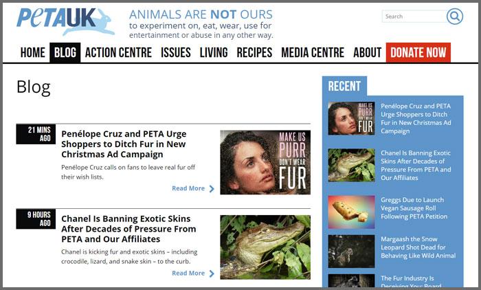 PETA UK Blog