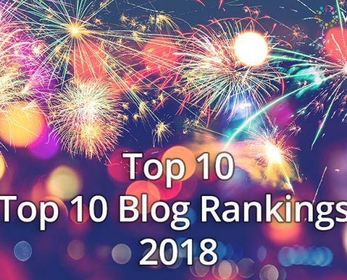 Top 10 Top 10 Blog Rankings 2018