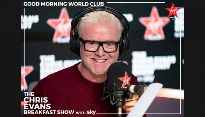 Chris Evans Virgin Radio