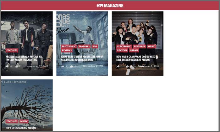 HTF Magazine