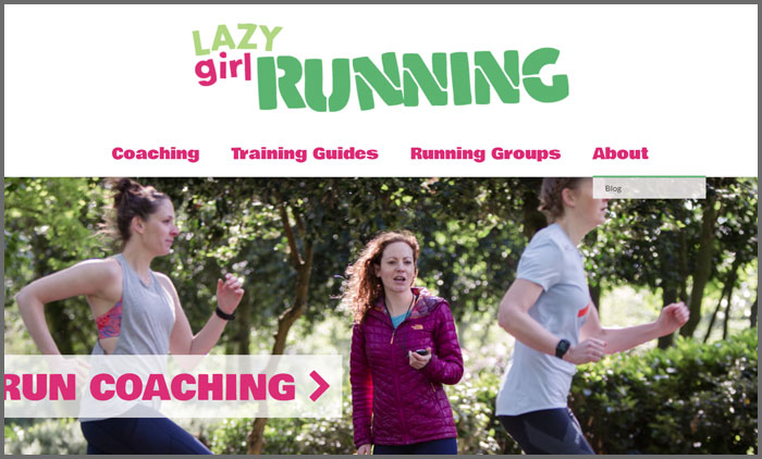 Lazy Girl Running