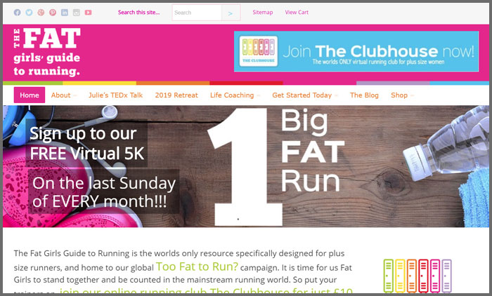 The Fat Girl's Guide To Running