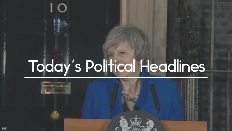 Theresa May no confidence victory announcement