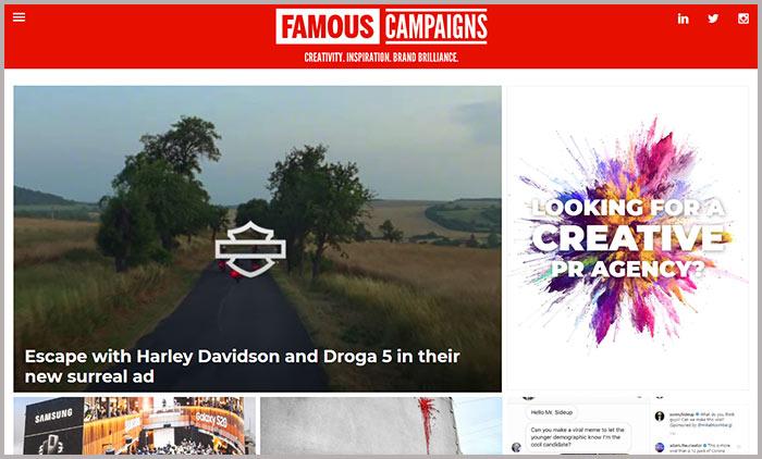 Famous Campaigns