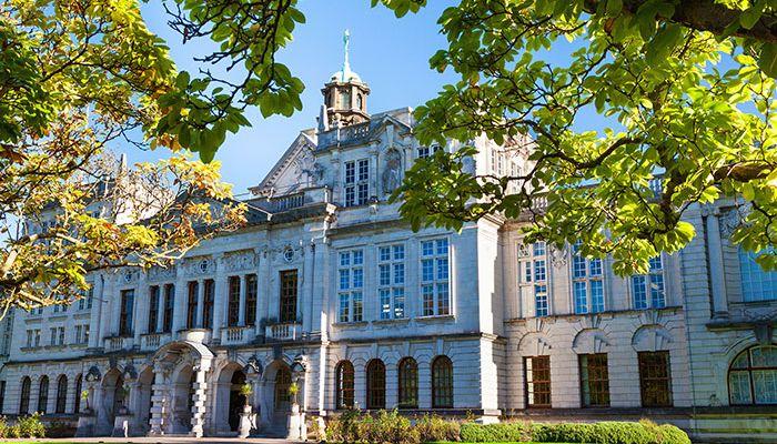 Photo of Cardiff University building
