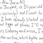 Alex Jacquot letter
