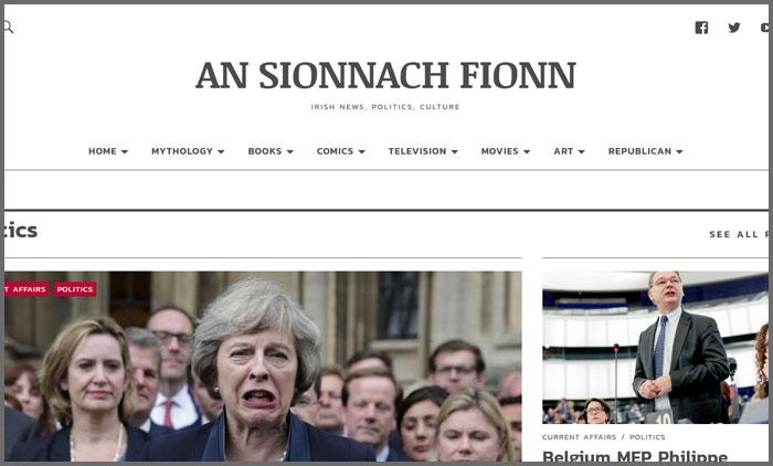 An Sionnach Fionn