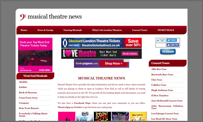 Musical Theatre News